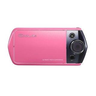 Casio Exilim EX-TR10 12.1MP Pink Digital Camera