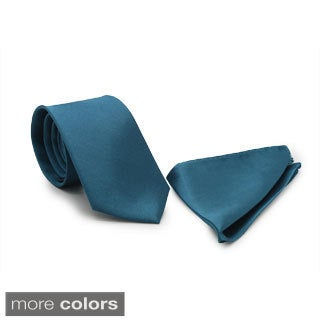 Ferrecci Men's Skinny Necktie Set