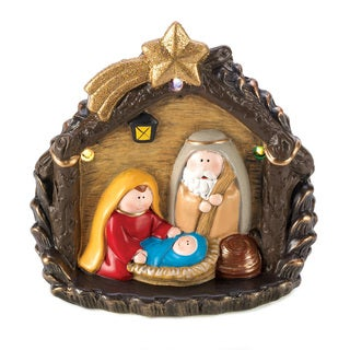Large Lighted Nativity Figurine