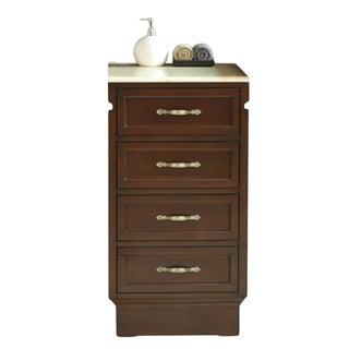 Virtu USA Oxford 18-inch Bathroom Cabinet