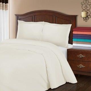800 Thread Count Wrinkle Resistant 3-piece Duvet Cover Set