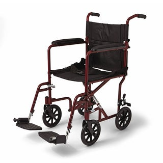 Medline Aluminum Transport Chair