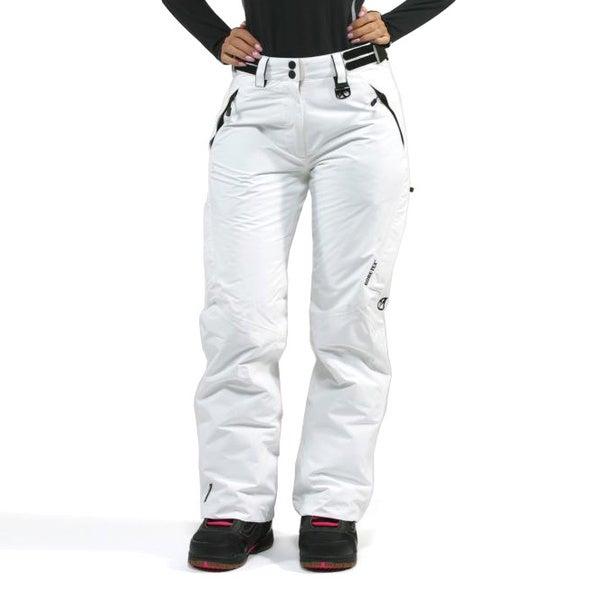 Marker Women's 'Farenheit' White Insulated Snowboard Pants