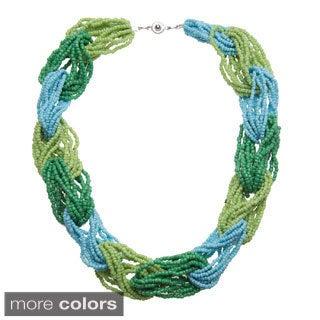 Handmade Madaraka Beaded Loop Necklace (Uganda)