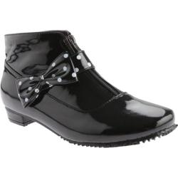 Beacon Shoes Women's Black Rainbow Boots