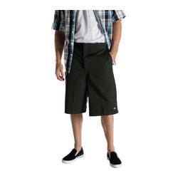 Men's Dickies 13in Loose Fit Twill Stripe Multi-Pocket Work Short Olive Green