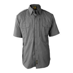 Men's Propper Lightweight Tactical Short Sleeved Dress Shirt Grey