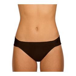 Women's Sunsets Side Shirred Pant Dark Chocolate