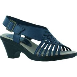 Women's Easy Street Weave Blue Burnished