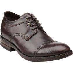 Men's Clarks Delsin View Burgundy Brush Off Leather