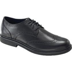 Men's Apex Lexington Wingtip Black Full Grain Leather