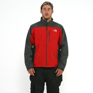 The North Face Men's 'Apex Bionic' Red/ Asphalt Grey Softshell Jacket