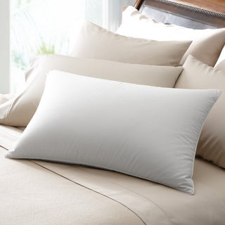 Famous Maker 230 Thread Count Soft White Down Pillow