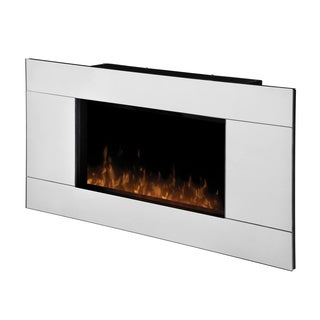Dimplex Stainless Steel Electric Flame Fireplace