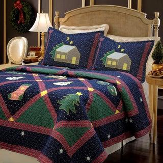 Christmas Night 3-piece Quilt Set