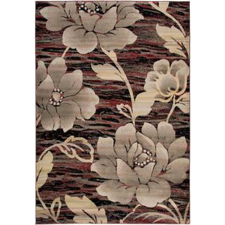 Hand-Craft Imports 'Gibraltar' Red Area Rug (9'2 x 12'6)