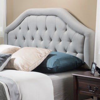 Christopher Knight Home Angelica Adjustable Tufted Fabric Headboard