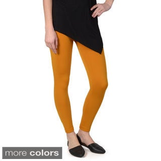 Journee Collection Junior's Soft Stretchy Fleece Lined Leggings