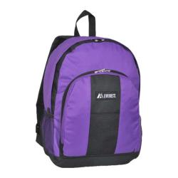 Everest Backpack with Front and Side Pockets (Set of 2) Dark Purple