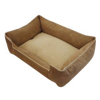 Tan and Brown Chill Pet Bed