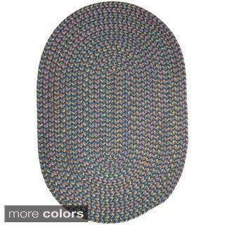 Bouquet Indoor/Outdoor Braided Area Rug (7' x 9')