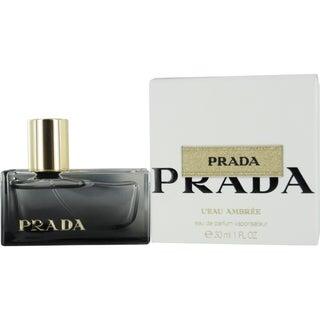Prada Leau Ambree Women's 1-ounce Eau de Parfum Spray