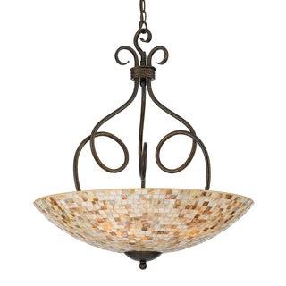 Quoizel 'Monterey Mosaic' 4-light Pendant