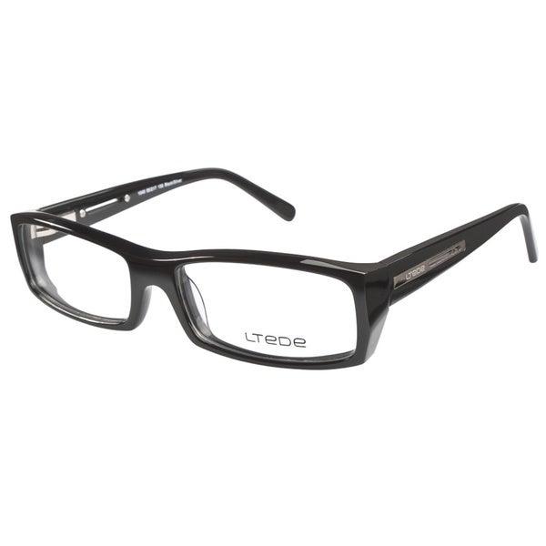 ltede 1040 black silver prescription eyeglasses