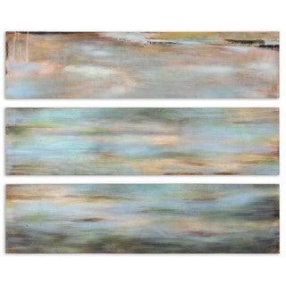 Uttermost SHorizon View Panel I, II, III, Set of 3