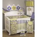 Cotton Tale Periwinkle 8-piece Crib Bedding Set
