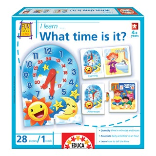 Educa I Learn... What Time Is It? Children's Game