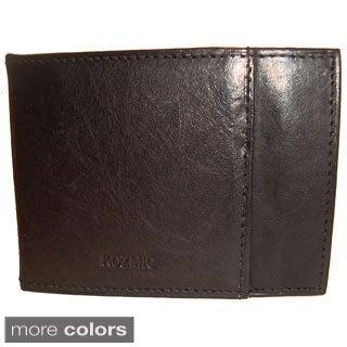Kozmic Leather Money Clip Wallet