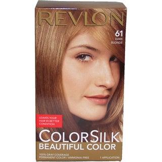 Revlon ColorSilk Beautiful Color #61 Dark Blonde Hair Color Today: $9 ...
