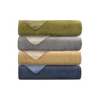 Lacozee Cashmere Touch Cotton-blend Reversible Blanket or Throw