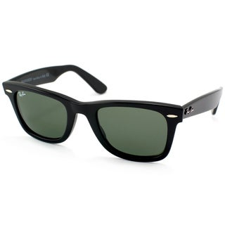 Ray-Ban 'RB2140 901' Shiny Black Wayfarer Sunglasses