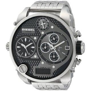 Diesel Men's DZ7221 Mr. Daddy Silver Stainless Steel Watch