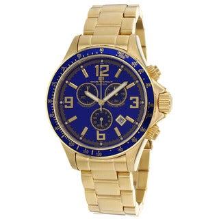 Oceanaut Men's Baltica Blue/ Gold Watch