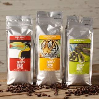 Silver Bean Drip Grind Coffee 3-bag Sampler