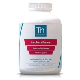 Trusted Nutrients 500mg Raspberry Ketones (400 Veggie Caps)