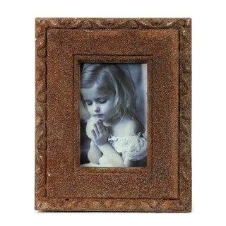 Privilege 10x8-inch Brown Ceramic Photo Frame