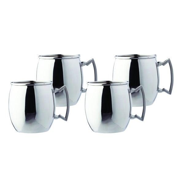 Steelii' Stainless Steel 16-ounce Moscow Mule Mug (Set of 4)