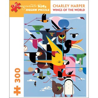 Charley Harper Wings of the World 300-piece Puzzle