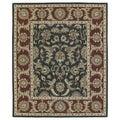 Hand-Tufted Joaquin Black Kashan Wool Rug (9' x 12')