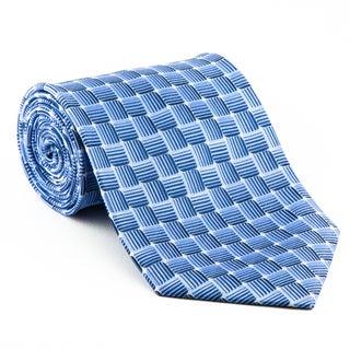 Platinum Ties Men's 'Blue Water' 100-Percent Polyester Necktie