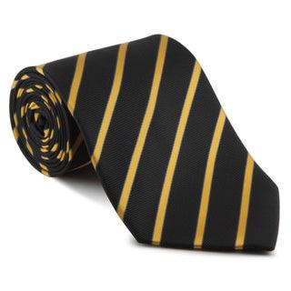 Platinum Ties Men's 'Bumblebee Slice' Necktie