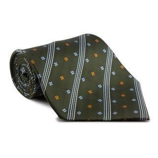 Phatties Men's 'Racing Green Crescendo' 5-inch Wide Necktie
