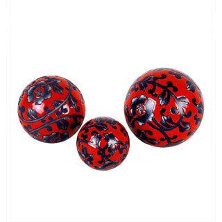 Privilege Medium Floral Ceramic Sphere