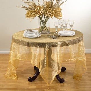 Crushed Tissue Table Topper or Tablecloth