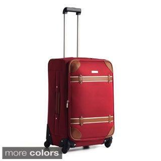 Anne Klein Vintage Edition 24-inch Medium Spinner Upright Suitcase
