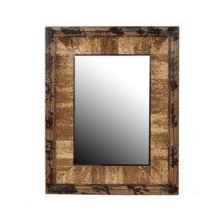 Privilege Vintage Reclaimed Wood Wall Mirror